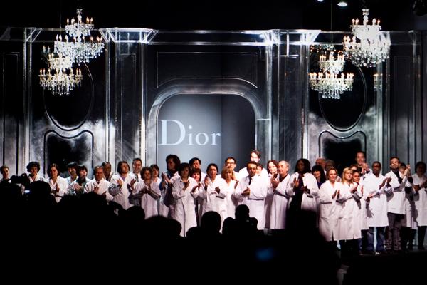 Petites mains show Christian Dior