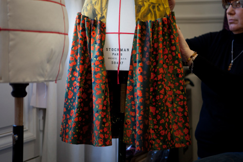 cacharel, atelier, couture, petites mains