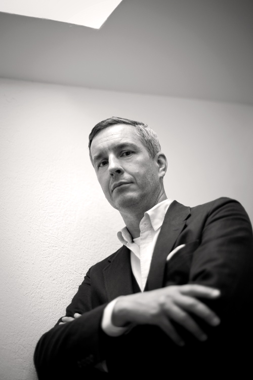 Dries Van Noten, president, hyeres, 2010, portrait, james bort