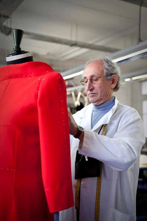 StephaneRolland, atelier, couture, premier d'atelier, haute  couture