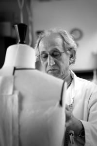 Ateliers Stephane Rolland, premier d'atelier tailleur, haute couture