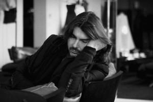 Stephane Rolland, haute couture, robe, showroom, portrait