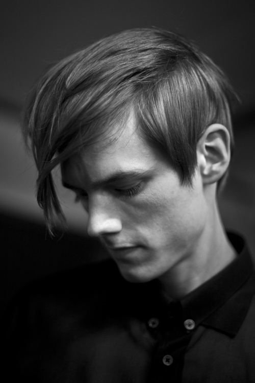 gaspard Yurkievich, backstage, fashion week, pap homme