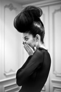 Eva minge, xenia, backstage, fashion week