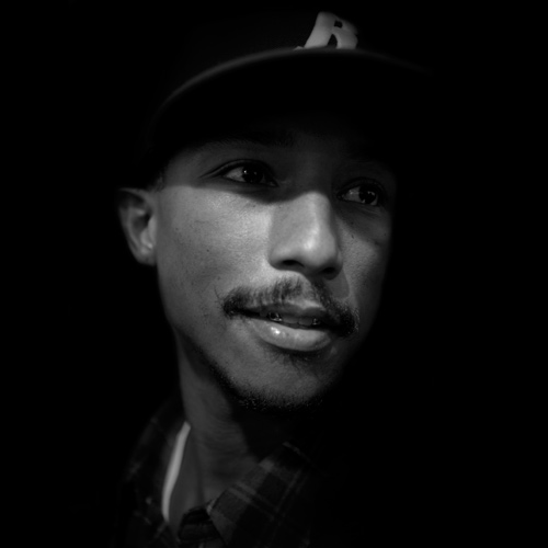 Pharrell Williams, portrait, james bort