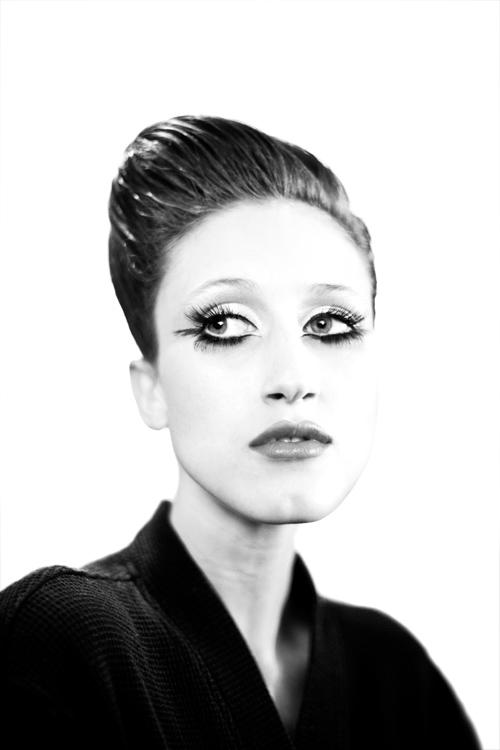 anna Cleveland, zac posen, james bort, visage, portrait