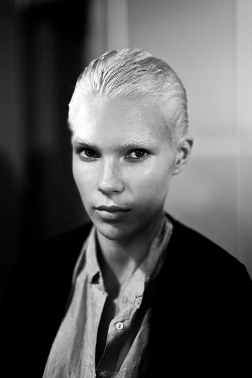 lanvin, portrait, backstage, james bort, britt maren