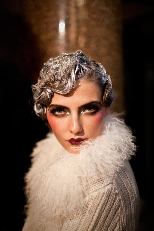 John Galliano, backstage, printemps été, 2011, fashion week, show, james bort
