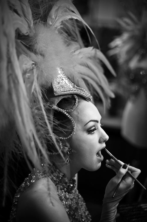 Moulin Rouge, backstages, coulisses
