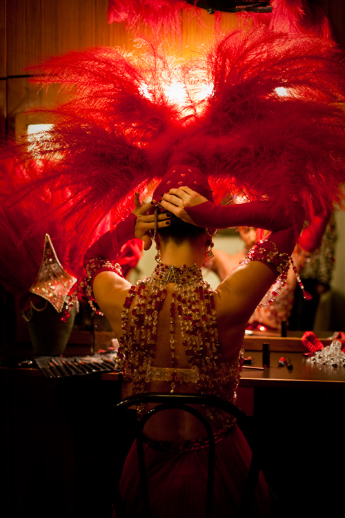 Moulin Rouge, backstages, james bort