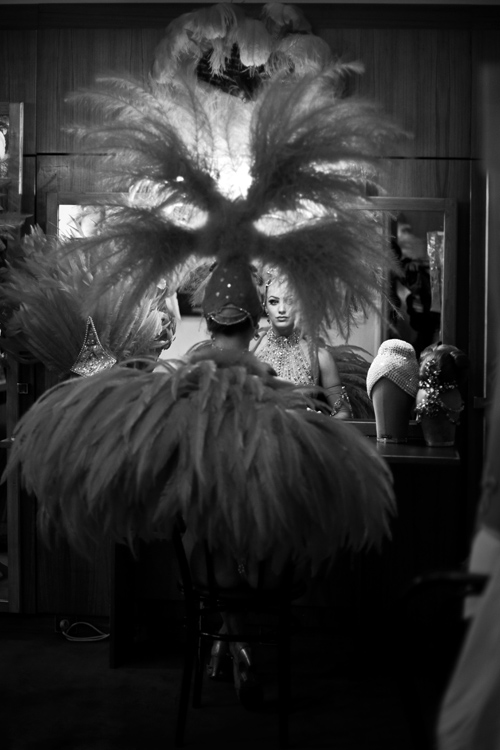 coulisses, Moulin Rouge, backstages
