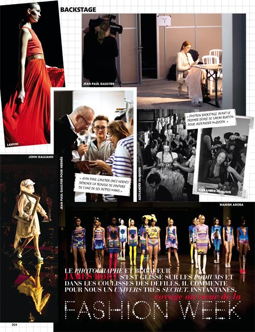 Madame Figaro, James Bort, au coeur de la Fashion Week