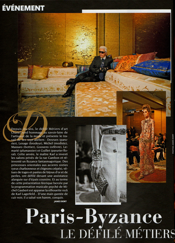 Madame Figaro, chanel, karl lagerfeld