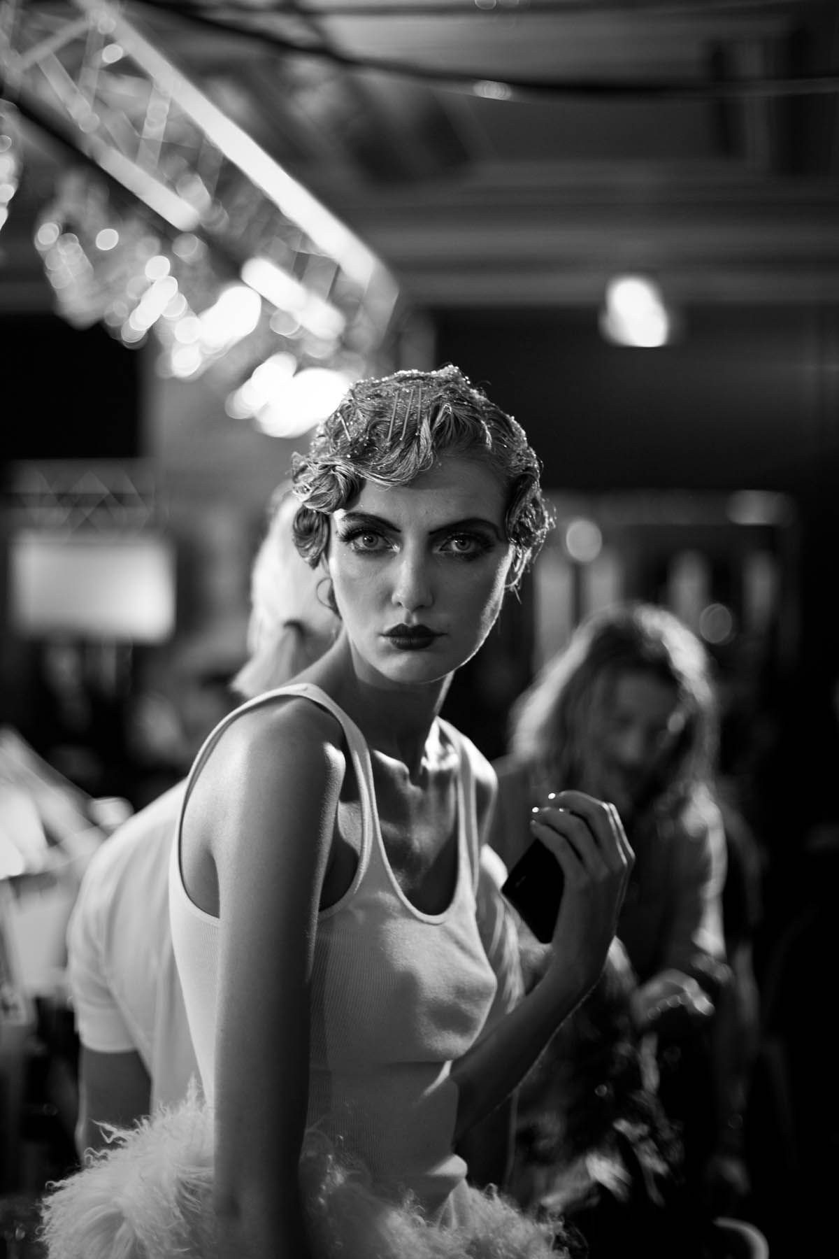 John Galliano, Backstage, James Bort