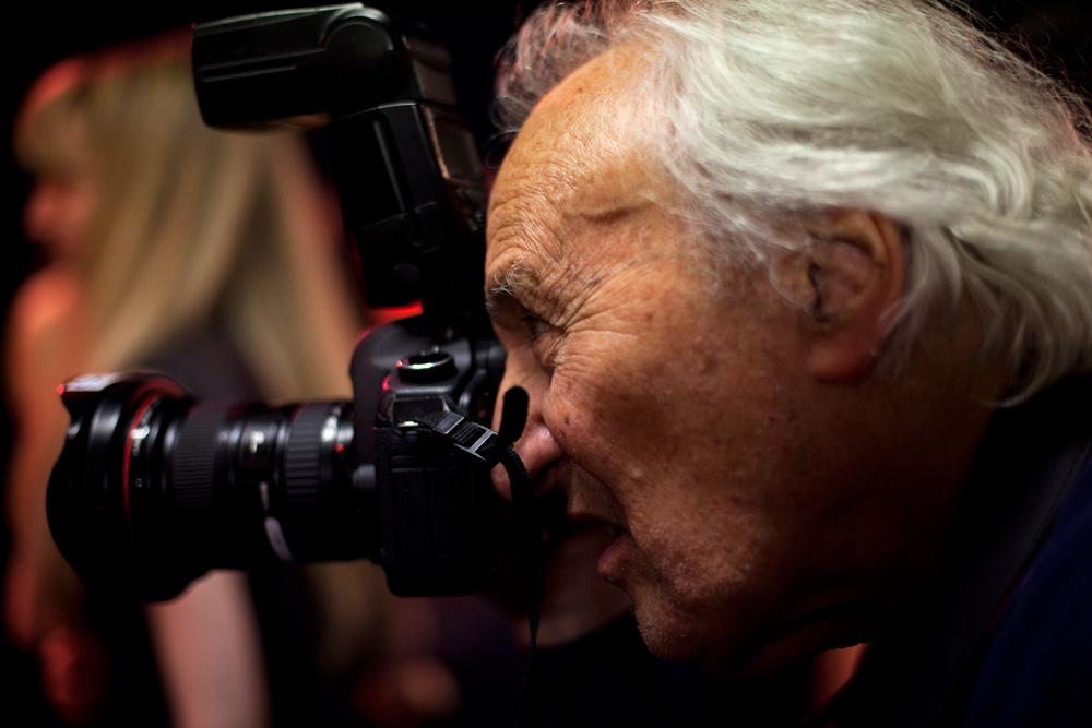 William Klein, james bort, backstage lanvin, photographer, canon