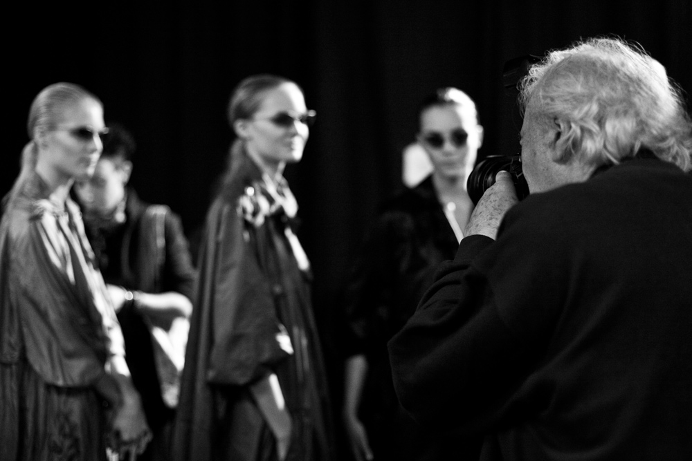 William Klein, james bort, backstage lanvin, photographer, canon