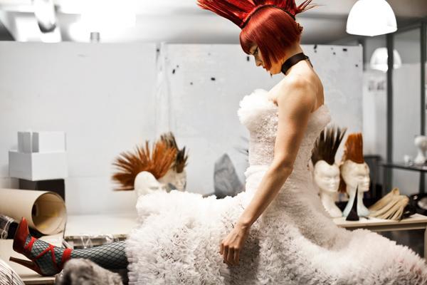 Psykko Tico chez Jean Paul Gaultier