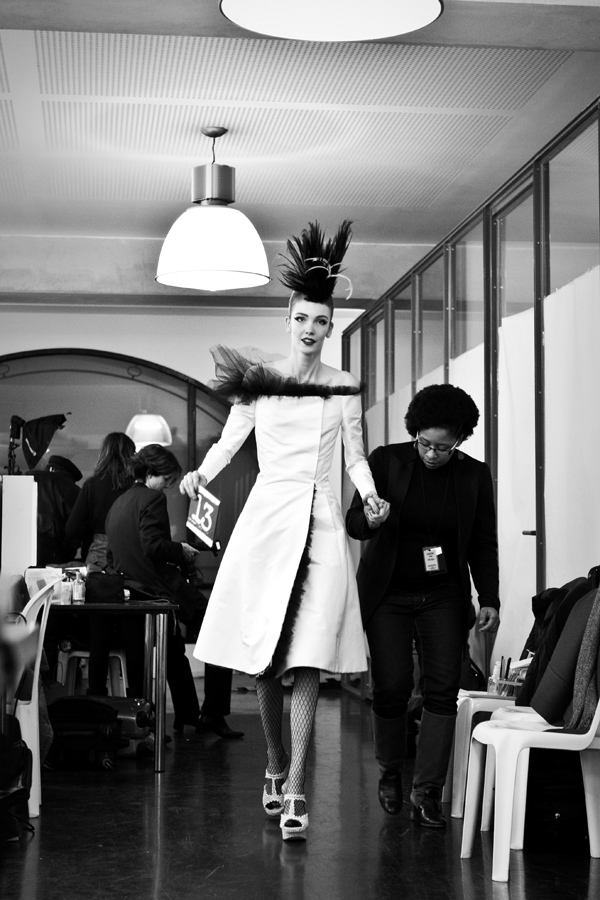 Jean Paul Gaultier, backstages