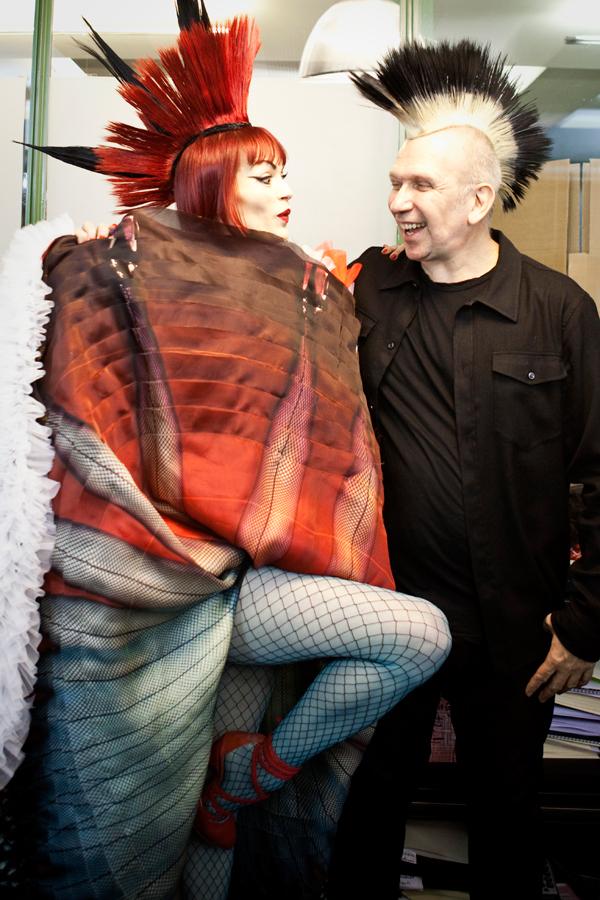Psykko Tico et Jean Paul Gaultier