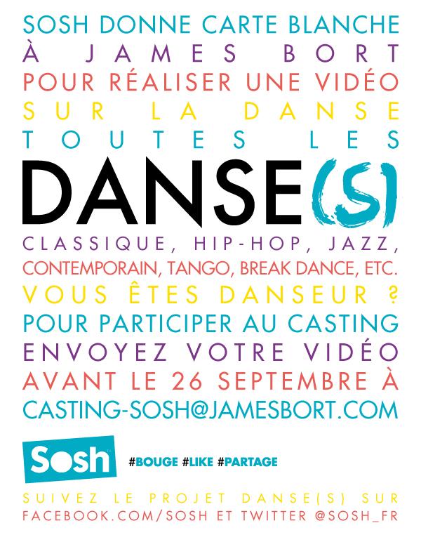Casting Danse(s) Sosh James Bort