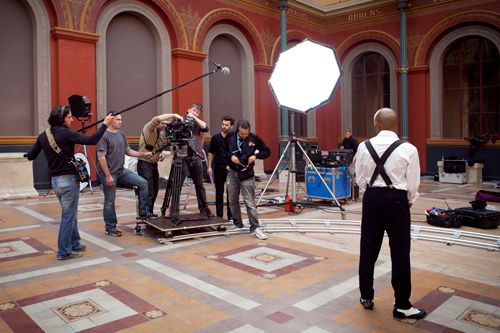 Making-of Danse(s), liza-b, james bort, beaux arts de paris, sosh, orange