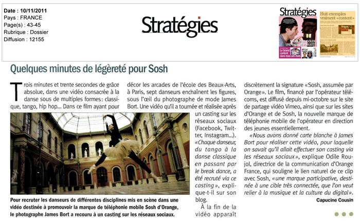 Danse(s) Sosh Stratégies