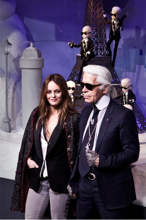 Karl Lagerfeld Vanessa Paradis