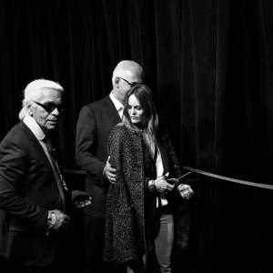 Karl Lagerfel & Vanessa Paradis