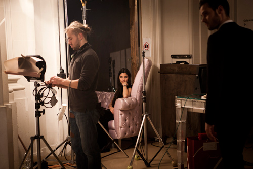 "Making-of ""Chateau Baccarat"", liza b"