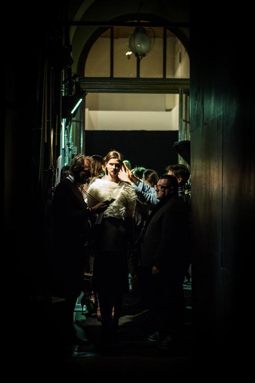 Lanvin Backstage