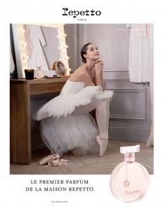 Le Premier Parfum Repetto, Dorothée Gilbert by James Bort