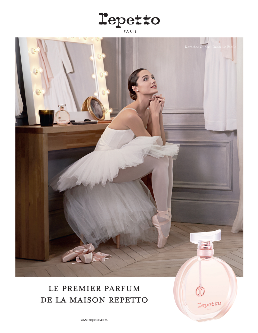 Le Premier Parfum Repetto, Dorothée Gilbert by James Bort