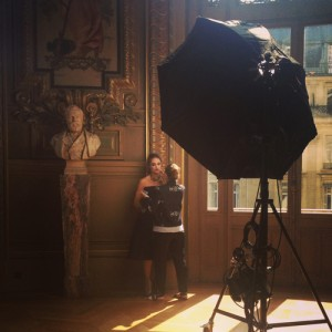 Dorothée Gilbert à l'Opéra Garnier.