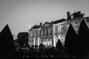 Behind the scene, musée Rodin