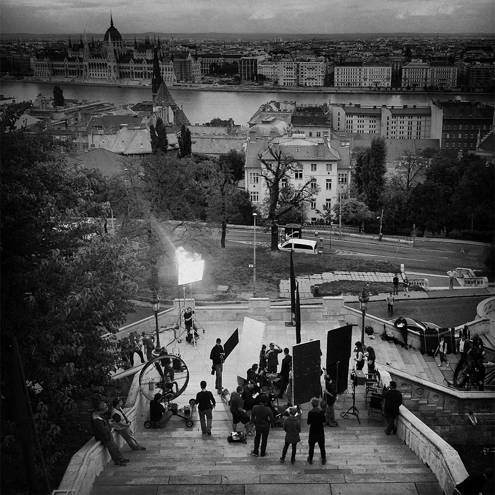 Budapest Tournage