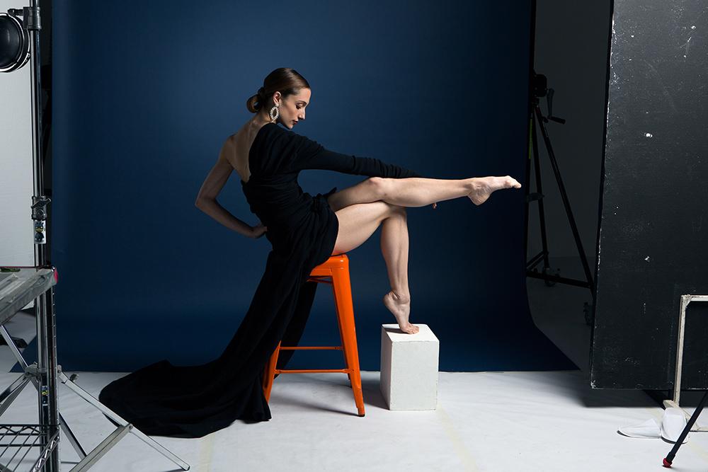 Dorothée Gilbert, danseuse étoile, égérie Piaget.
