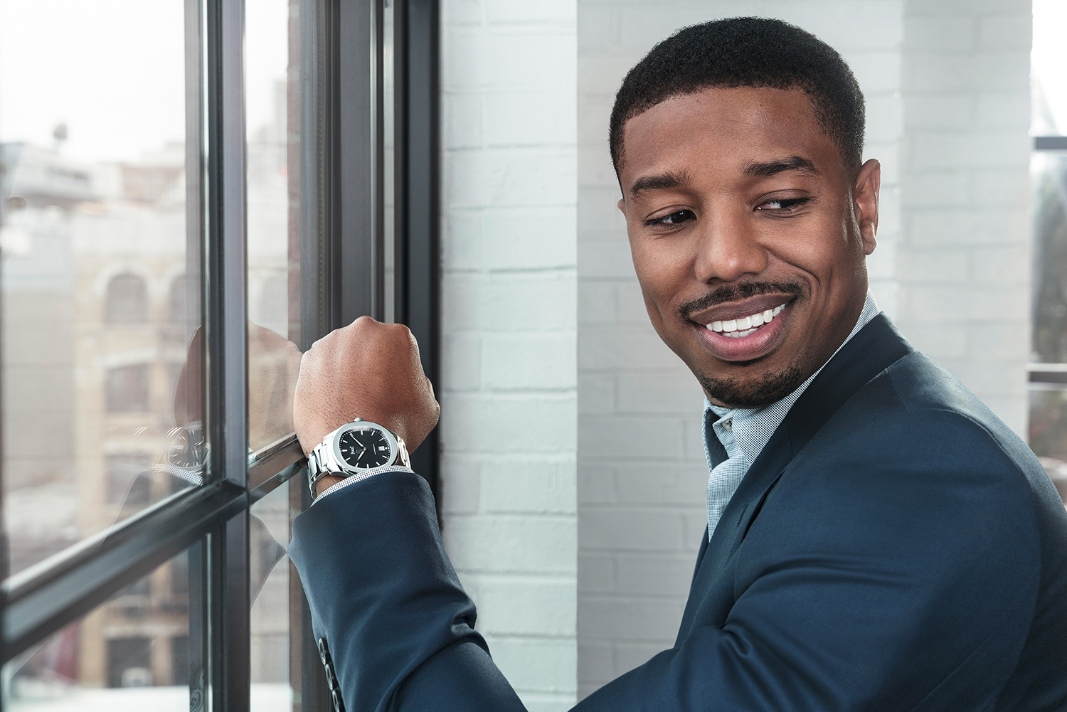 Michael B. Jordan by James Bort