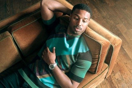 Michael B Jordan by James Bort