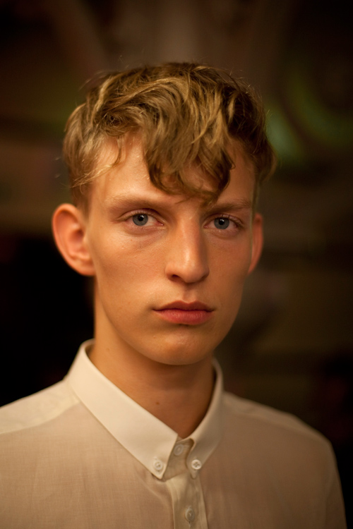 gaspard Yurkievich, backstage, fashion week, pap homme