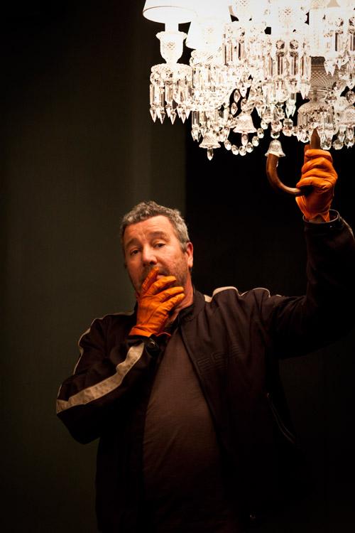 Philippe Starck, james bort, designer, baccarat, milan