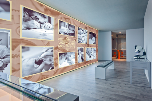 Patek Philippe, exhibition at Dubaï