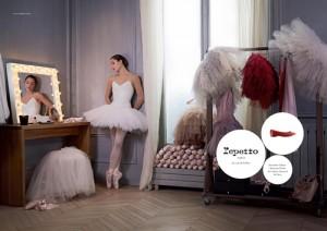 Campagne Repetto, James Bort, Dorothée Gilbert, Danseuse Étoile, Opéra National de Paris