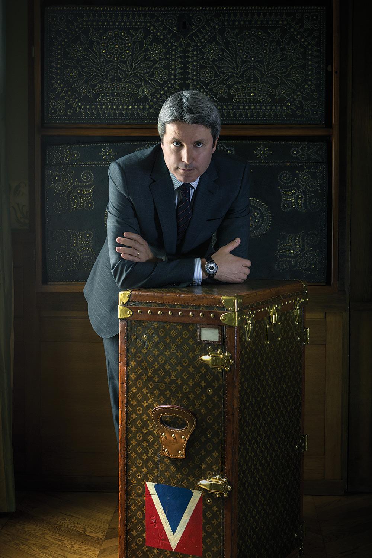 Hamdi Chatti for Vanity Fair, at Maison de Famille Louis Vuitton